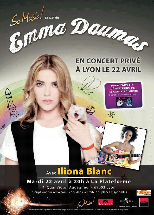 PHOTOS (Tournée 2009-2010 et show case 2011) Affiche