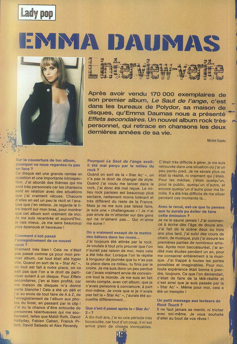 Archives presse Emmalandrocktouchitv6qs